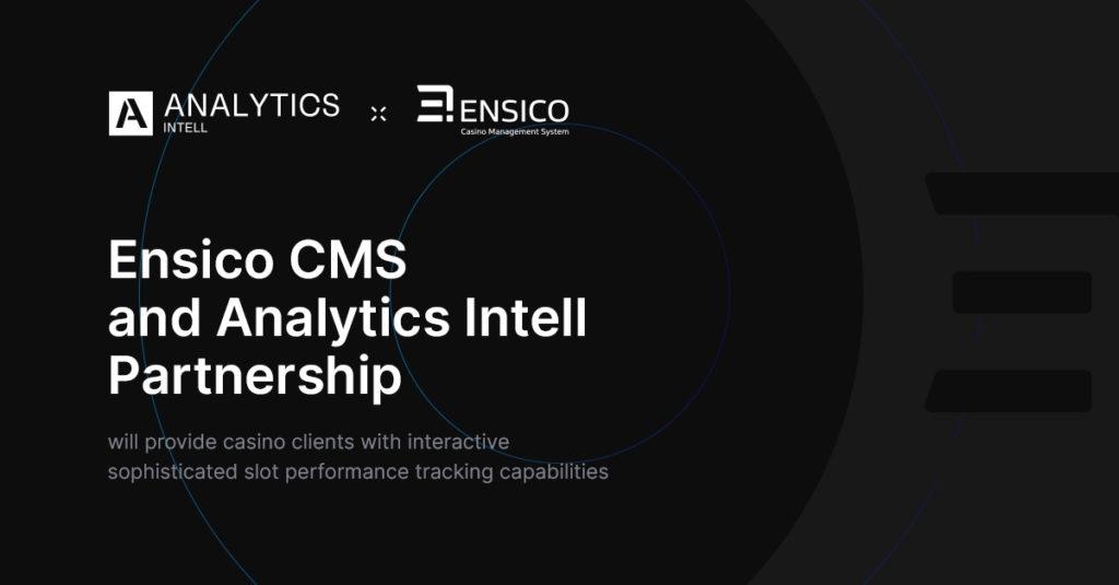 Ensico CMS and Analytics Intell Partnership